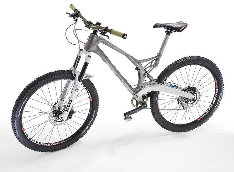 La primera bicicleta con un cuadro de titanio impreso en 3D