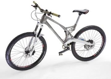 La primera bicicleta con un cuadro de titanio impreso en 3D 1