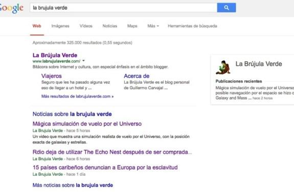 Google dice adiós a una época eliminando el subrayado de los enlaces