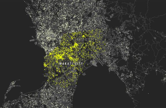Un ranking de las ciudades con más selfies del mundo