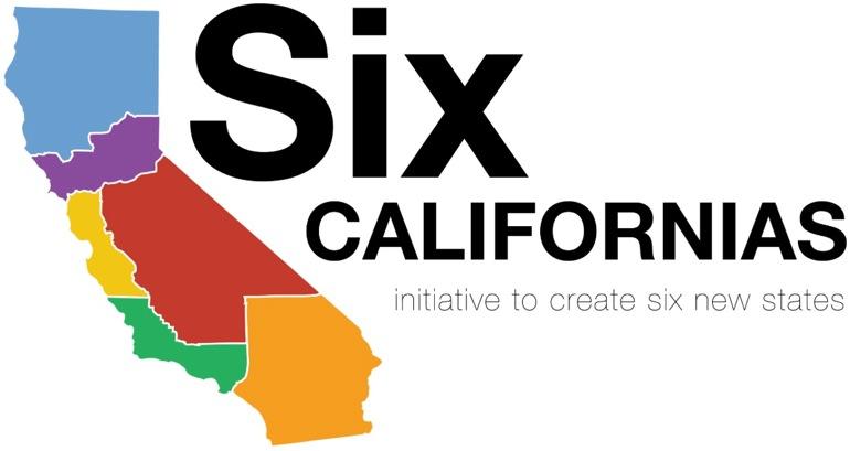 Proponen dividir California en seis estados