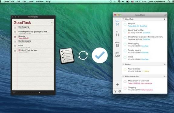 GoodTask para Mac e iOS gestiona tus tareas, recordatorios y eventos de calendario 2