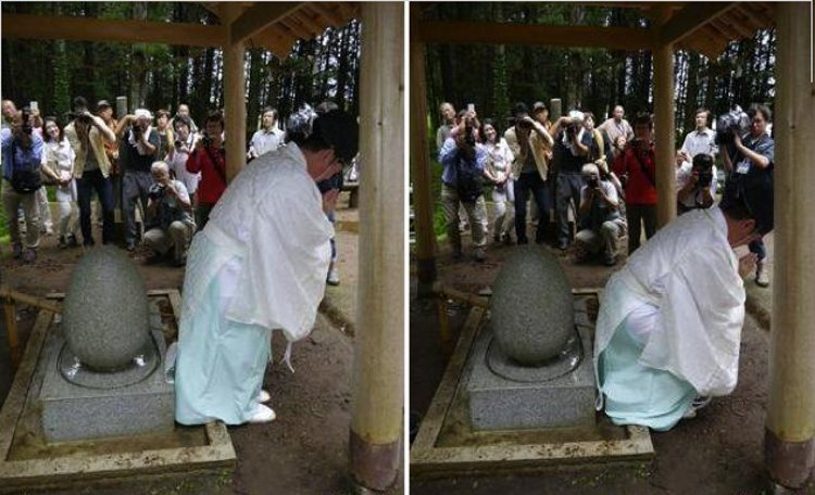 Un santuario japonés donde se tratan las hemorroides