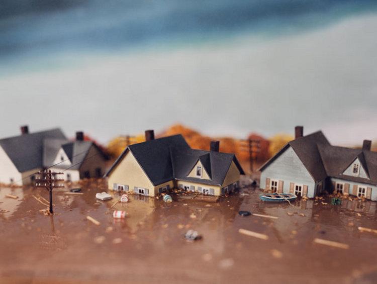 Los dioramas apocalípticos de Lori Nix