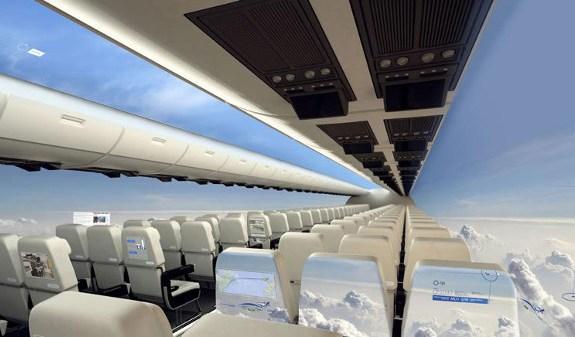 Aviones sin ventanillas para un futuro cercano 1