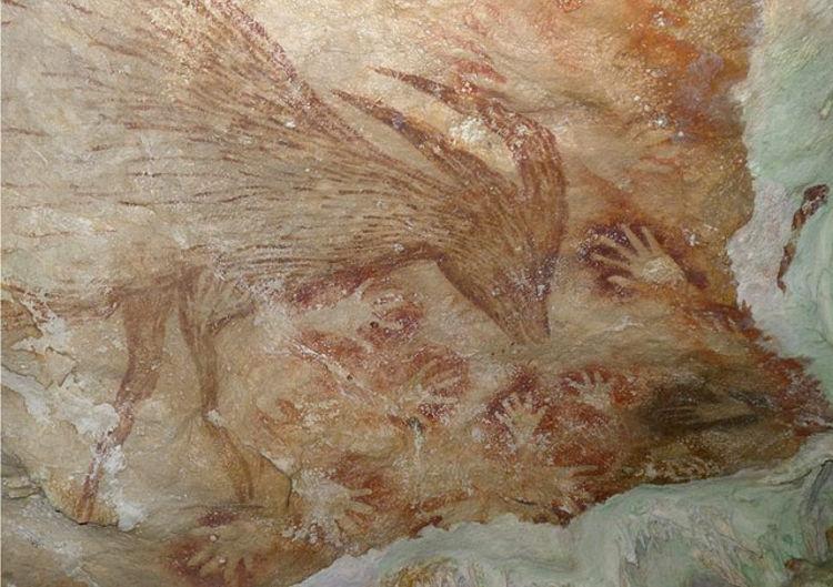 ¿Es el arte rupestre de Indonesia tan antiguo como el europeo?
