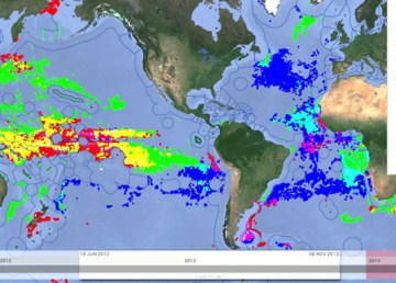 Global Fishing Watch, una web para seguir online la actividad pesquera mundial 2