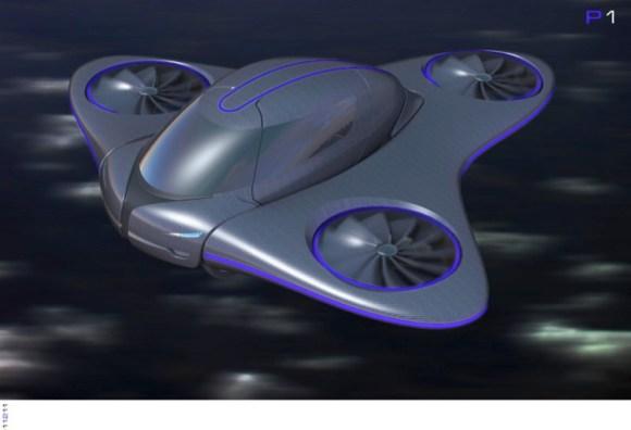 Skylys otro coche volador en proyecto 2