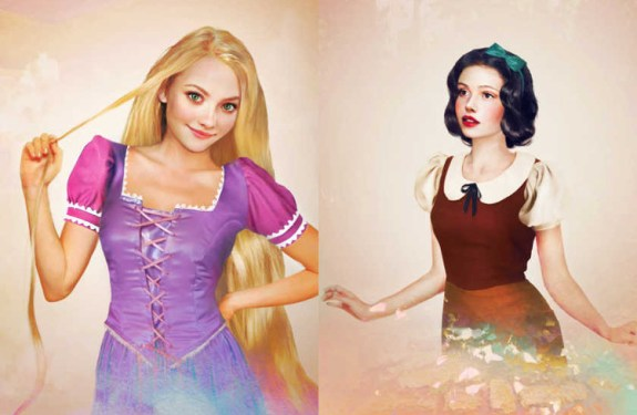 Una versión realista de los personajes femeninos de Disney 6