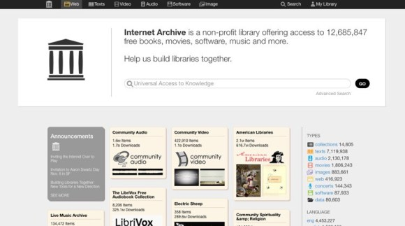 Internet archive v2 1
