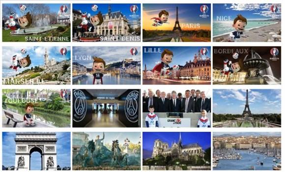 UEFA hace guia turistica ciudades sede proxima Eurocopa 2