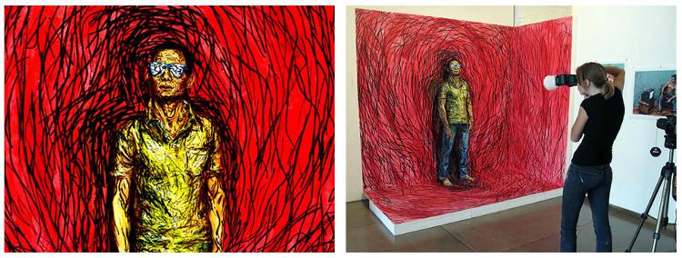 Asombrosas pinturas Alexa Meade 5
