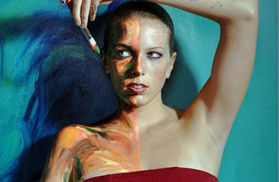 Las asombrosas pinturas de Alexa Meade 1