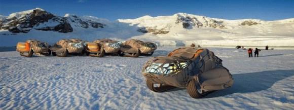 Casa moviles modulares trabajat Antartida