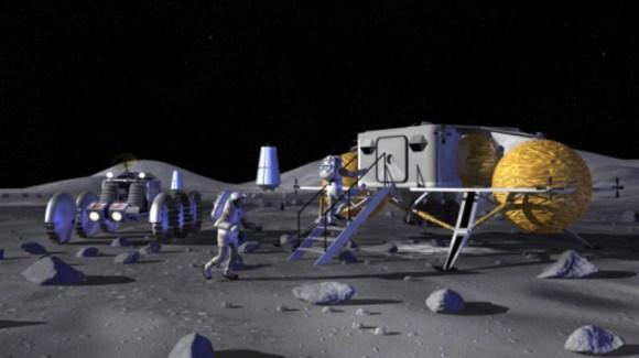 Empresa rusa proyecta construir base Luna