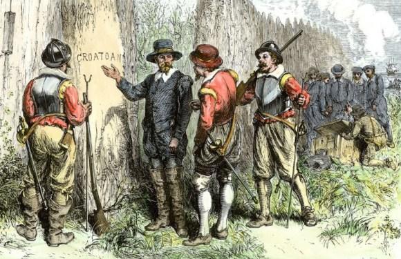 En busca colonia perdida Roanoke