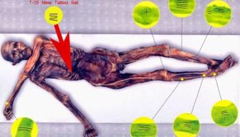 Los tatuajes de Ötzi, el Hombre del Hielo 1