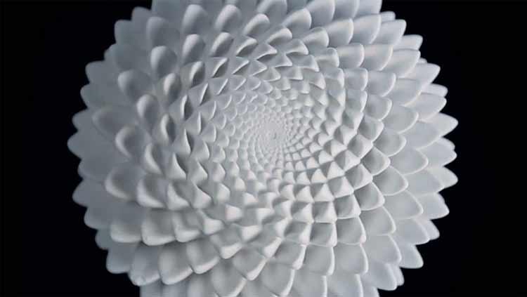 Zoótropos de Fibonacci: esculturas impresas en 3D animadas