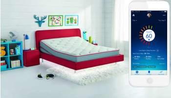 Una cama inteligente que monitoriza el sueño de los niños