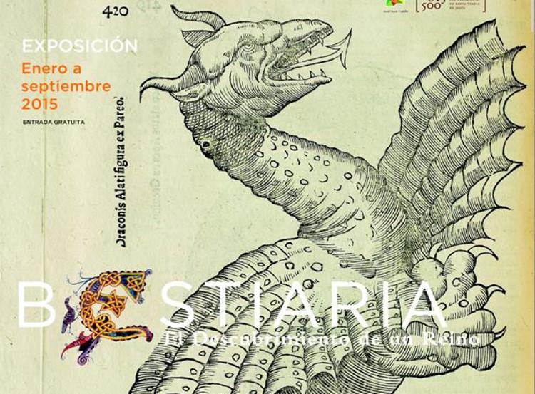 Bestiaria, la fauna mitológica medieval reunida en una exposición