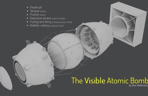 Explora una bomba atómica por dentro con este modelo interactivo 1