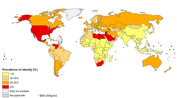 Atractivo sexual mundial mapas 2