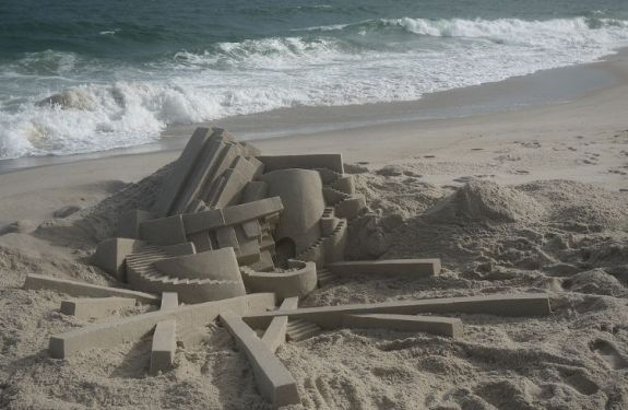 Los fantásticos castillos de arena de Calvin Seibert 1