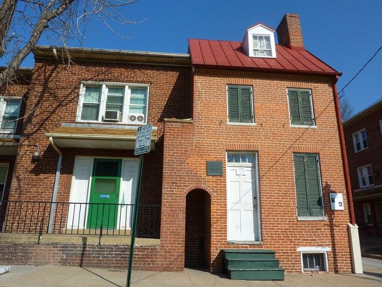 La casa-museo de Edgar Allan Poe en Baltimore