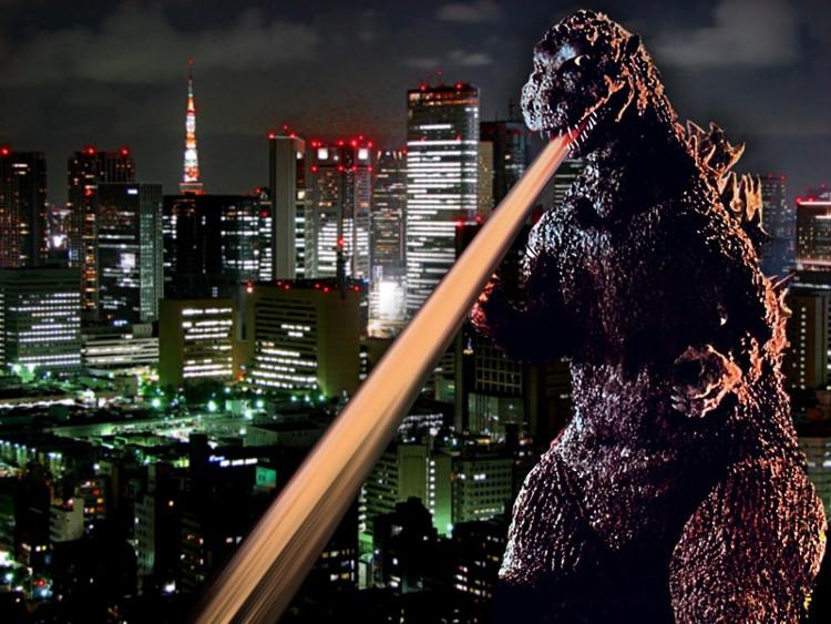 Godzilla embajador turístico Tokio