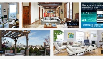 Aplicación móvil de HomeAway para reservar o encontrar apartamento turístico 1