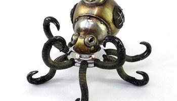 Las insólitas criaturas steampunk de Igor Verny 1