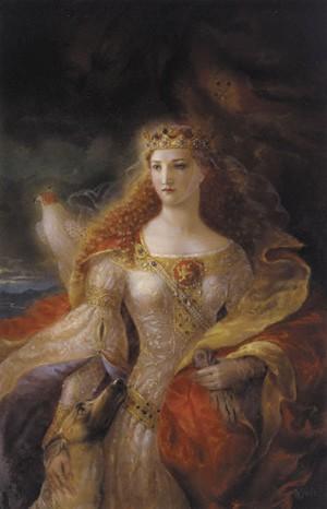 Retrato de Leonor de Aquitania