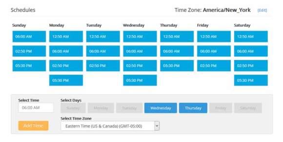 social-pilot-schedule