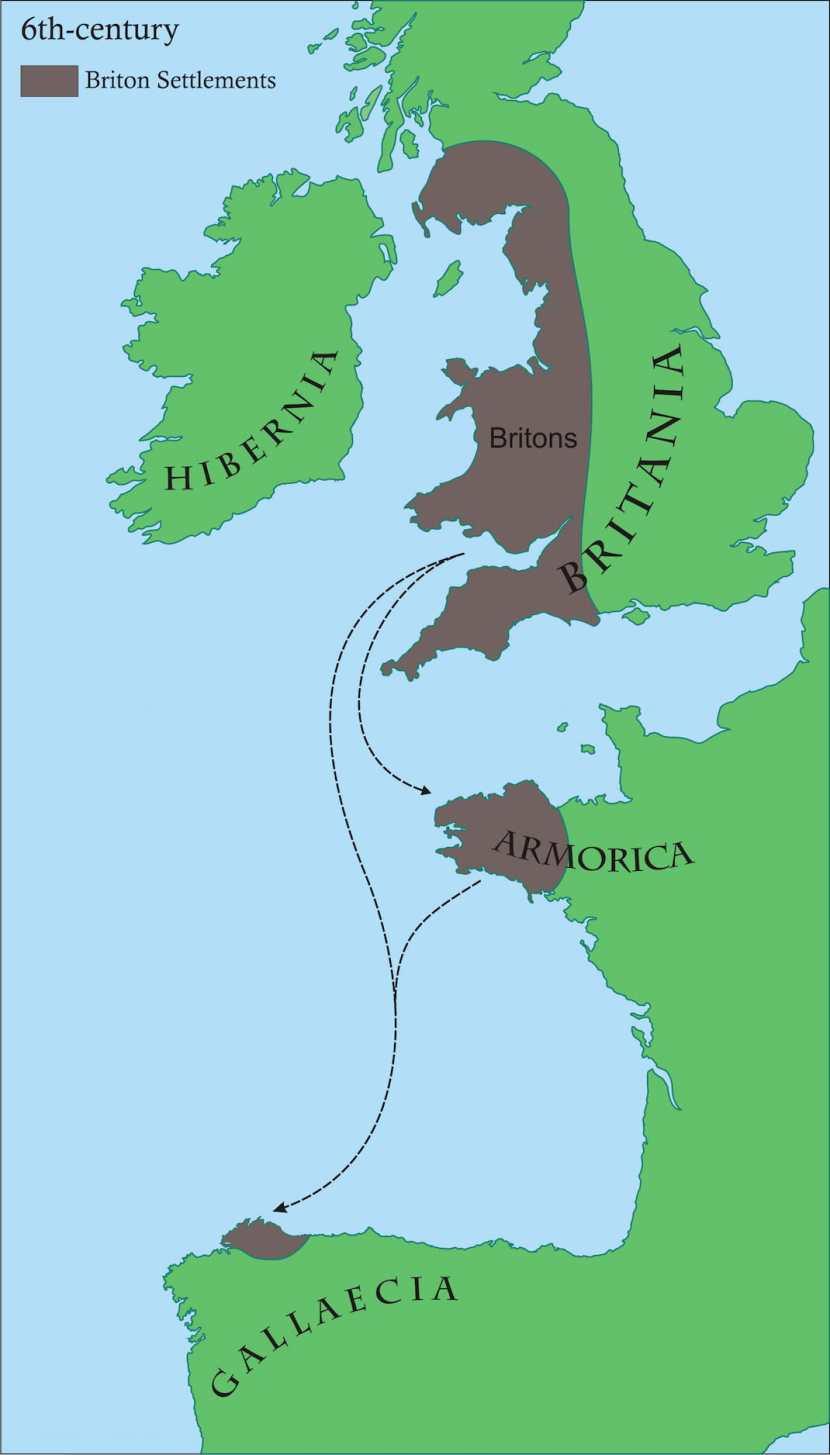 Britonia: un asentamiento celta en la Galicia del siglo VI 1