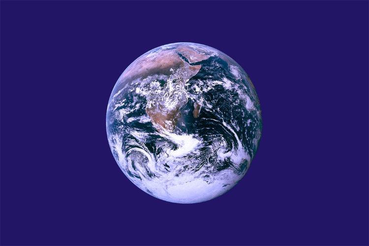 Crean bandera representar toda Tierra 6