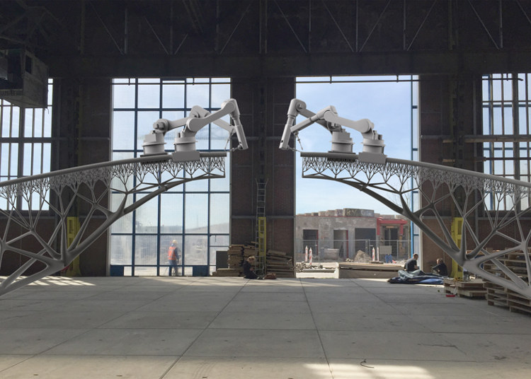 Amsterdam tendra puente construido robots 1