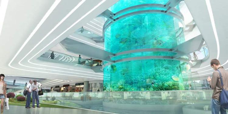 Espectacular centro comercial chino Dongfeng 3