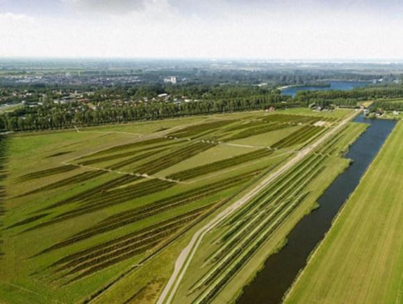 Parque crestas aisla ruidos aviones Amsterdam 2