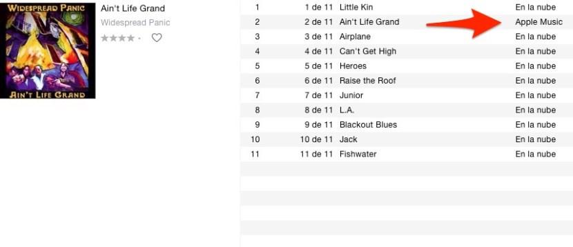 apple music album