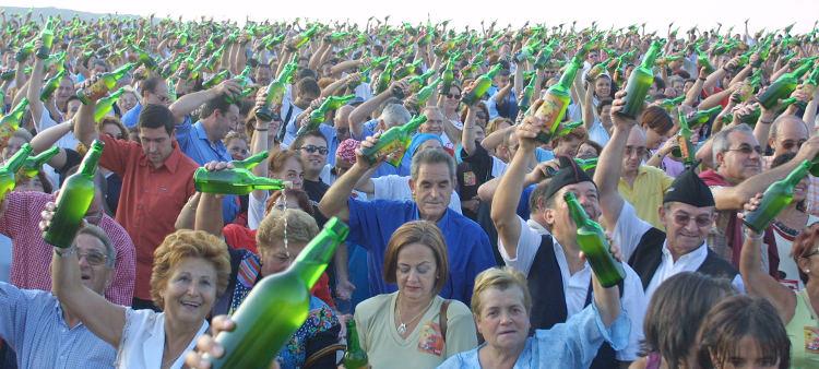 Gijón celebra la Fiesta de la Sidra Natural