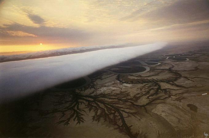 El espectacular fenómeno natural de las nubes Morning Glory en Australia