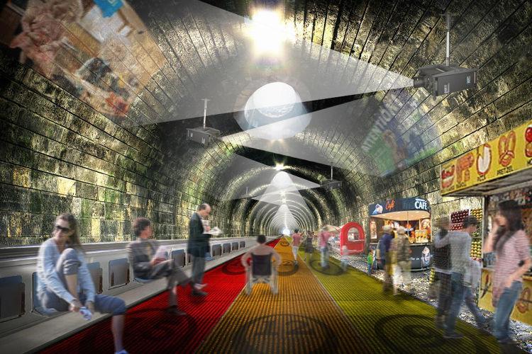 Pasarelas móviles para el suelo del Metro de Londres