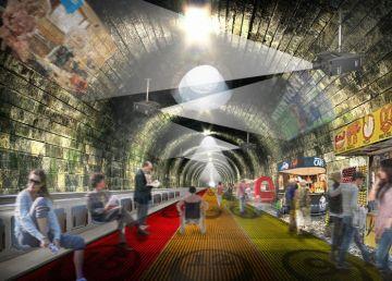 Pasarelas moviles para suelo Metro Londres