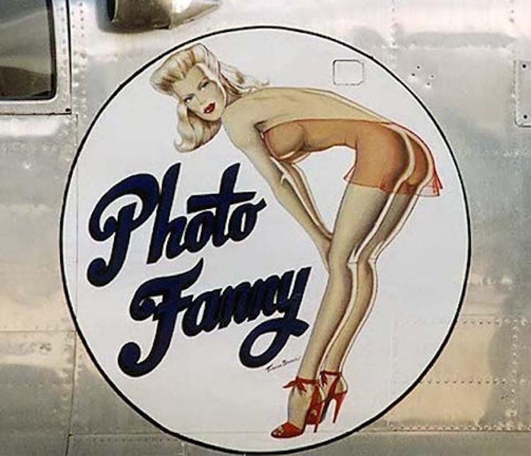 Pin-ups aviones Segunda Guerra Mundial 5