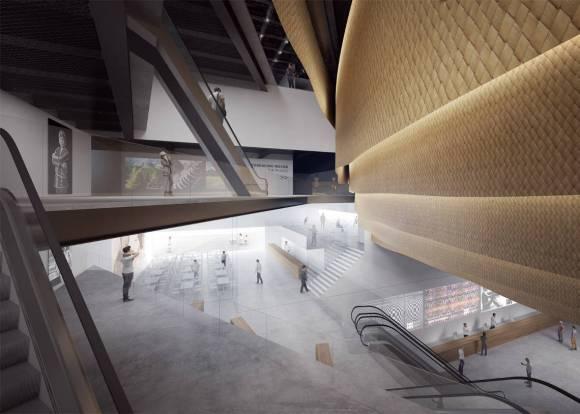 Asi sera nuevo espectacular Museo Conocimiento Indigena Manila 2