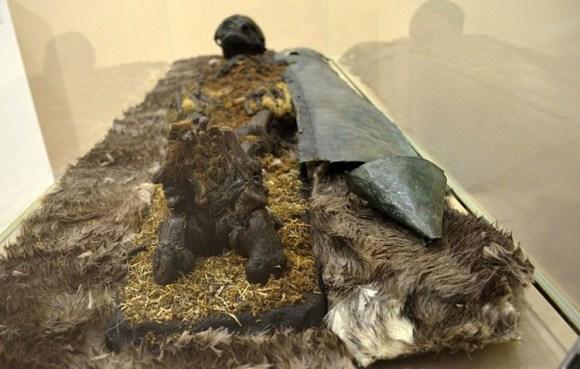 Hallan momia necropolis siberiana Salehard 1