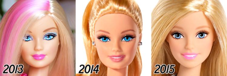 La evolución de Barbie a lo largo de sus 56 años