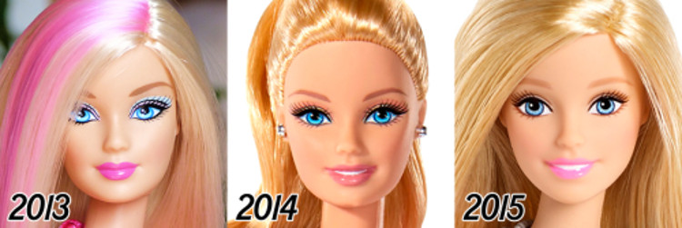 Evolucion Barbie 2
