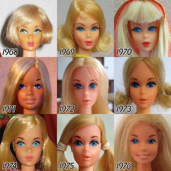 Evolucion Barbie 3