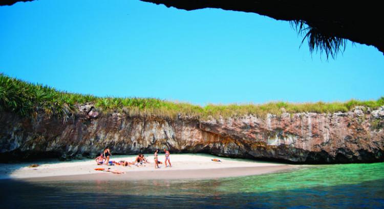 Plata Escondida rincon espectaular Islas Marietas mexicanas 1